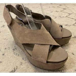 Steven By Steve Madden Platform Wedge Sandals